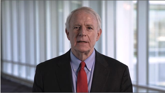 """Milwaukee Mayor Tom Barrett delivers a """"Reflections on a Historic Year"""" video instead of an in-person State of the City Address."""