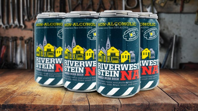 Lakefront Brewery released a non-alcoholic version of its flagship beer, Riverwest Stein.