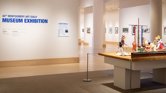 The 44th Montgomery Art Guild Museum Exhibition is available to view at the Montgomery Museum of Fine Arts.