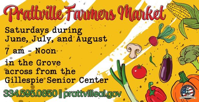 Prattville Farmers Market kicks off Saturday.