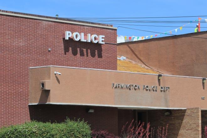 Farmington Police Department stock art.