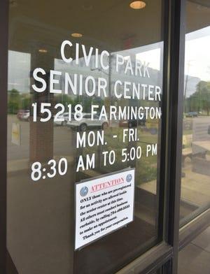 Livonia's Civic Park Senior Center.