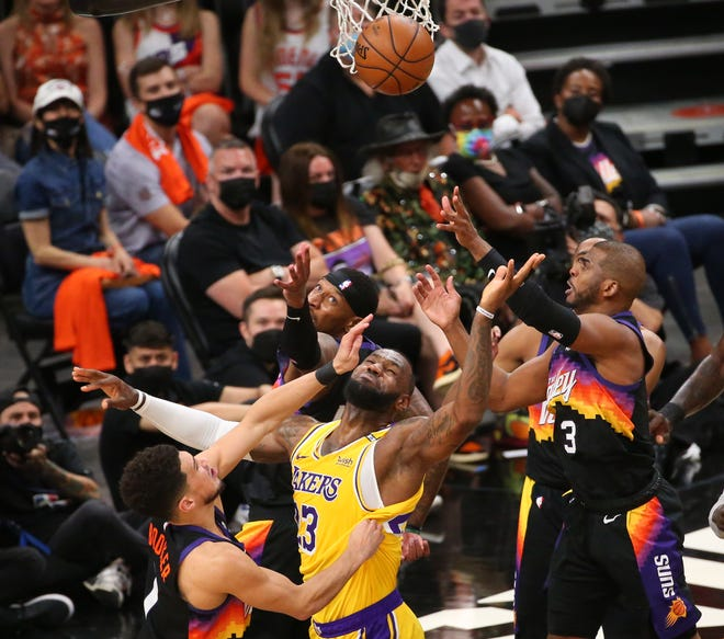 Los Angeles Lakers Vs Phoenix Suns Game 6 Odds Picks Predictions