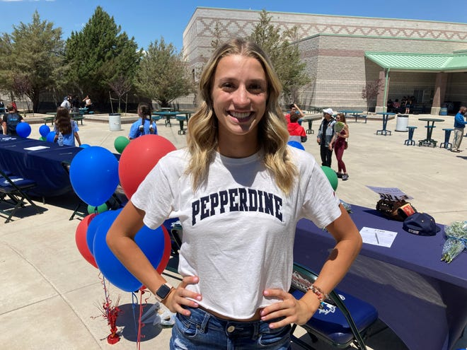Damonte Ranch senior Leah Dixon will go to Pepperdine and compete in track and field.