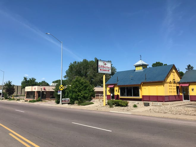 Gilberto's is moving its original location next door to the old Wendy's drive-thru at 708 S. Minnesota Ave. Photo taken June 2nd, 2021.