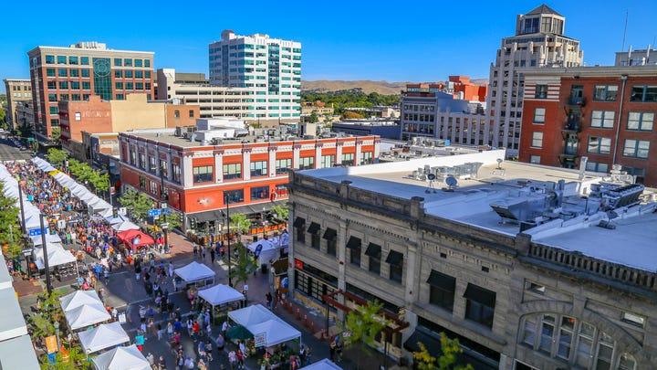 Boise City, Idaho Rank: #1 Median Sale Price (Jan-Feb 2021) $385,000 Price Change (since 2017) 71.90%
