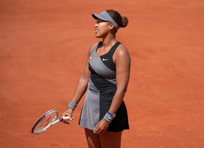 Naomi Osaka withdrew from the French Open after her first round match.