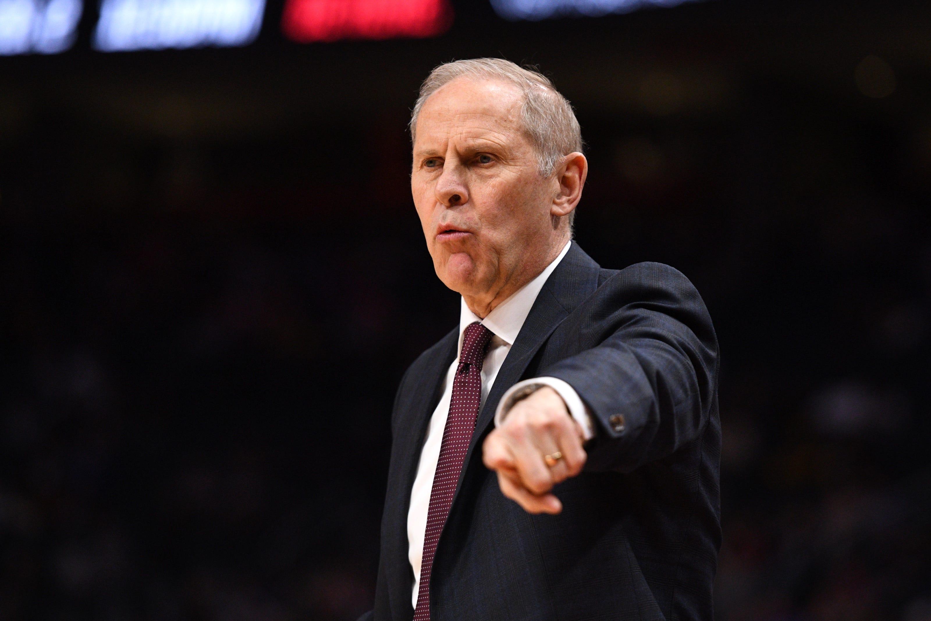 Former Michigan basketball coach John Beilein joining Detroit Pistons as senior advisor