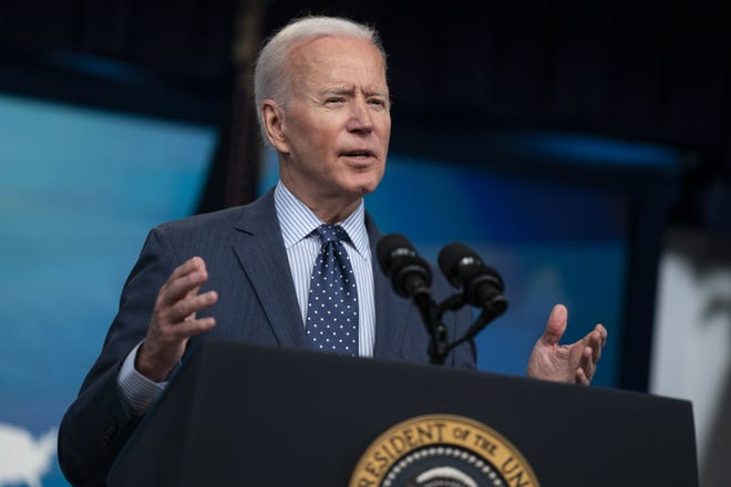 If the lab-leak theory is finally getting the respectful attention it always deserved, it's mainly because Joe Biden authorized an inquiry and Anthony Fauci admitted to doubts about the natural-origin claim, Bret Stephens writes. [AP PHOTO/EVAN VUCCI]