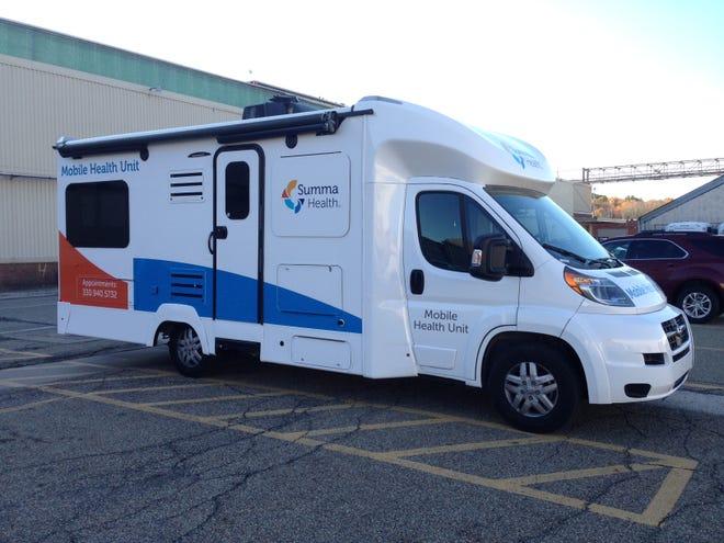 Summa Health will take its mobile vaccination unit around the region.
