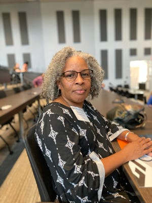 Wanda Samuels, a military spouse, was part of the inaugural program of the Georgia Cyber Center WorkForces program to get more people like her into cybersecurity careers.