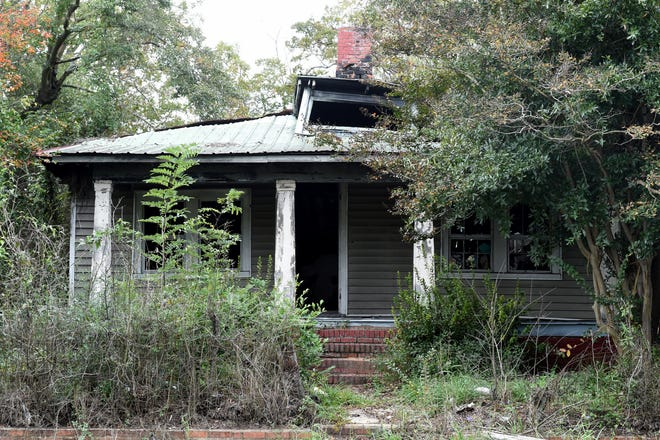 This Heard Avenue house spent time recently on Augusta's list of blighted properties to be demolished. The Augusta Commission is looking to add a blight tax to property owners who won't improve their properties, as long as no one lives in them.