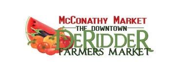 Visit the Farmer's Market downtown DeRidder