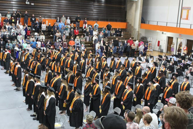The Cheboygan High School Senior Class of 2021's commencement ceremony was Friday, May 28, where the students all walked across the stage and received their diplomas, completing their high school careers.