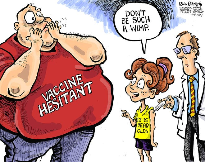 Phil Hands Editorial Cartoon