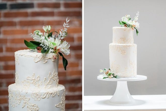 Wedding cakes from Short North Piece of Cake