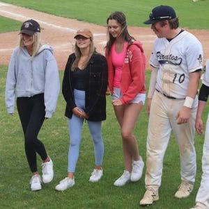 Danielle Haake, Catherine Tiedemann, Chloe Bruley and Carter Bruggeman