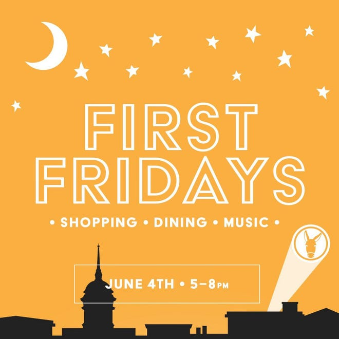 First Fridays returns for its June edition from 5-8 p.m., with shops staying open late, food trucks, live music and more in downtown Columbia.