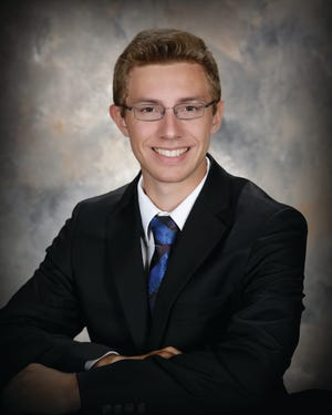 Jacob Vaagan of Devils Lake, was one of six recipients of $3,300 scholarships for incoming freshmen men to NDSU for the 2021-2022 academic year.