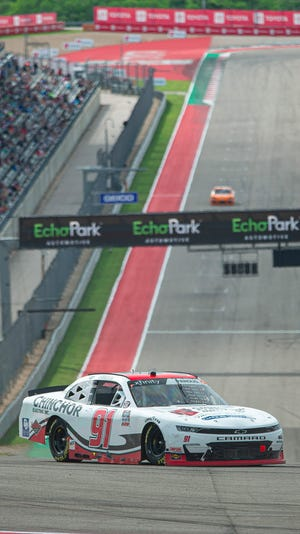 Preston Pardus finished 14th two months ago at COTA.