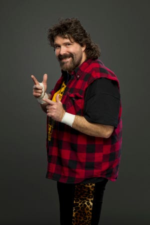 Mick Foley, known as Cactus Jack, Dude Love and Mankind during his career, is one of the wrestling legends scheduled to appear at the River City Wrestling Con.