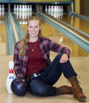 Pewamo-Westphalia's Beth Sorrell is the Ionia County Girls Bowler of the Year.