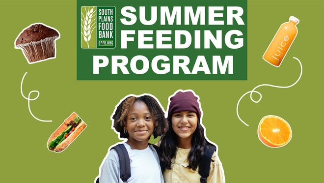 The Summer Meals Program provides free meals to children.