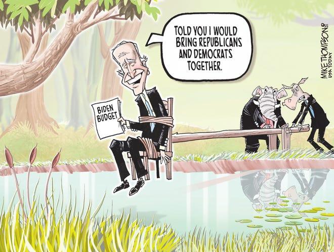 Today's editorial cartoon (June 4, 2021)