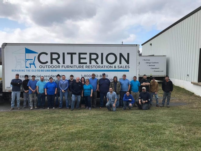 The employees of Criterion, located in the Keyser Industrial Park, came to the aid of the Save the Keyser Pool Committee over a year ago, and pool patrons will finally get to see the results when the pool opens Saturday, June 5.