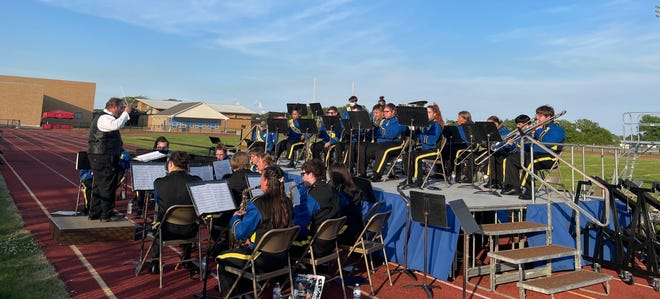 Jefferson High School's band held their spring concert, Band-O-Rama, for the first time since the COVID-19 pandemic started.