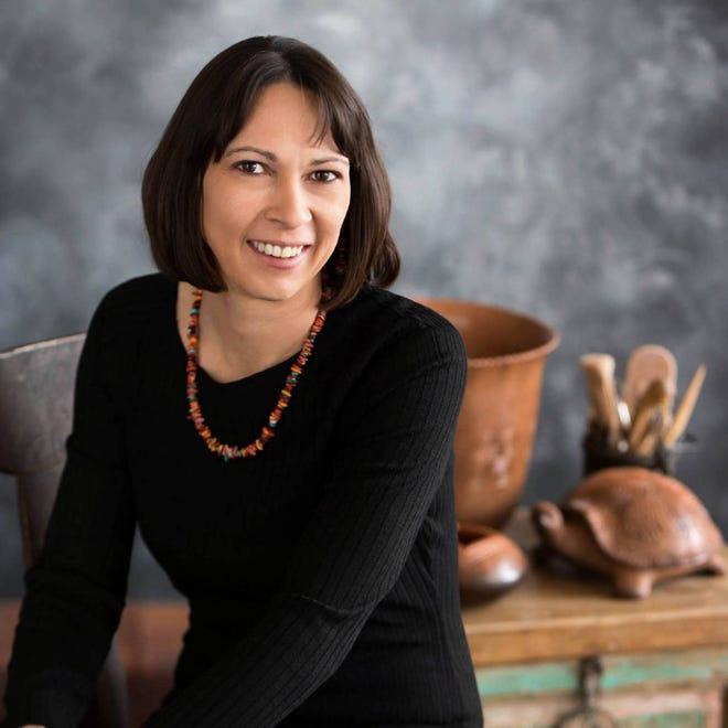 Award-winning Cherokee potter Karin Walkingstick, who is based in Claremore, will return to the 2021 Red Earth Festival.