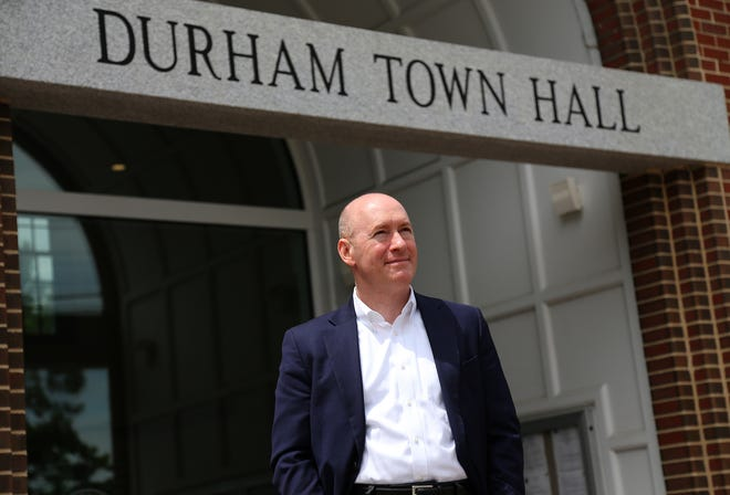 Durham Town Administrator Todd Selig has been overseeing the college town for 20 years.