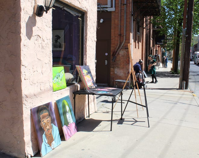 The 6th Street Art Market takes place on Saturday in Stroudsburg.