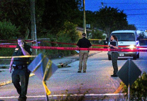 Crime in Lake Worth Beach jumped just over 3 percent during 2020, according to the Palm Beach County Sheriff's Office. (Lannis Waters / The Palm Beach Post)