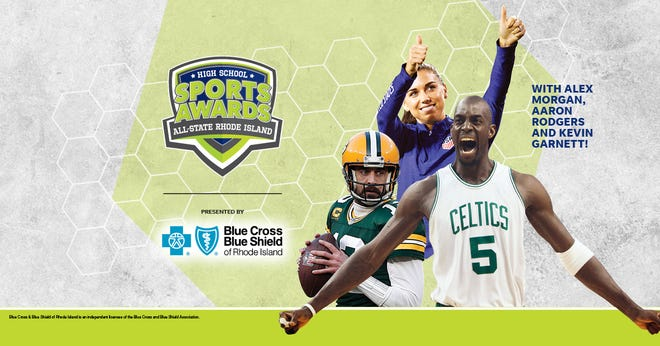 NBA Champion and MVP Kevin Garnett joins celebrity athletes, including Alex Morgan and Aaron Rodgers, announcing the winners of the All-State Rhode Island High School Sports Awards.