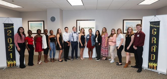 The Doctors Hospital of Sarasota Volunteer Auxiliary recently awarded 19 scholarships for 2021. The Volunteer Auxiliary has awarded more than $1.5 million to high school students in Sarasota and Manatee counties since its inception.