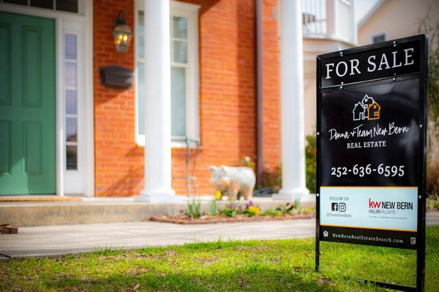In New Bern's real estate market, sellers have the power, and demand for luxury homes is back.