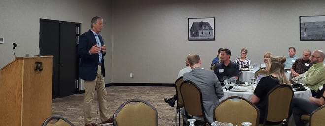 John Thune speaks at the Community Affairs Luncheon at the Best Western Ramkota in Aberdeen, June 2.