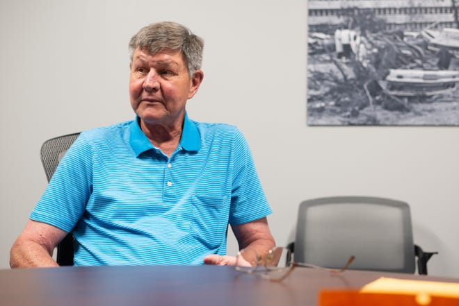 Former Shawnee County facilities management director Bill Kroll talks with The Capital-Journal about his recent termination.