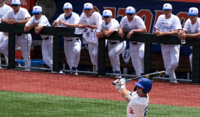 Florida's Cory Acton in action at Florida Ballpark.