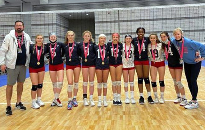 Liberty Elite Volleyball Club 14 National team
