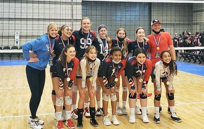 Liberty Elite Volleyball Club 13 National team