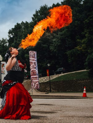 Flame in the Valley will perform at the June 19 Circus Day.