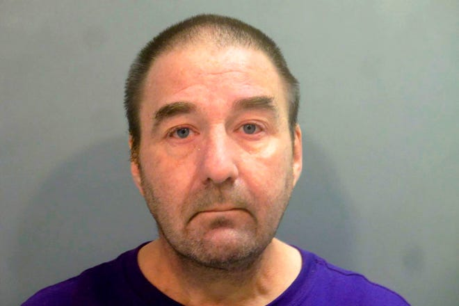 In this Aug. 17, 2019, file photo provided by the Washington County, Arkansas Sheriff's Department, Robert Levy is pictured in a booking photo. An Arkansas veterans hospital contributed to the errors made by Levy, a pathologist who pleaded guilty to involuntary manslaughter while working impaired due to its poor oversight, according to an inspector general's report released Wednesday, June 2, 2021.