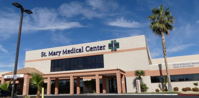 Providence St. Mary Medical Center in Apple Valley.