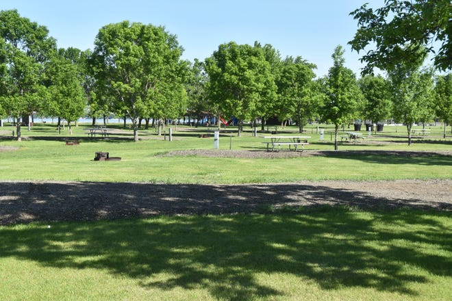 Picture of newly renovated Stokes-Thomas Park