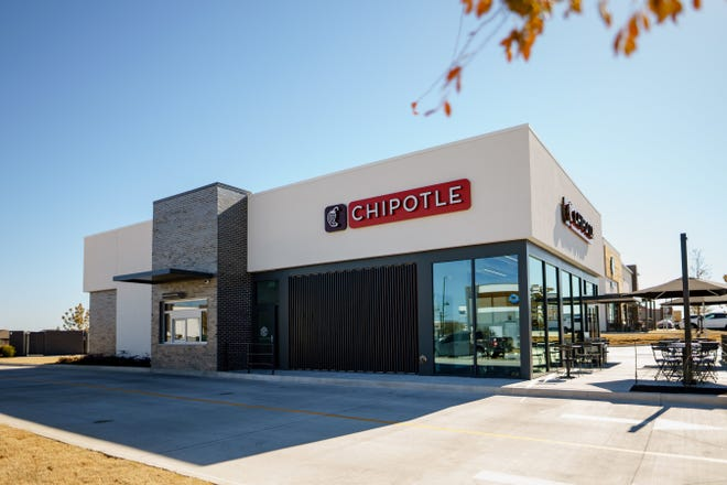 The new Chipotlane allows customers to pick up digital orders without leaving their cars.