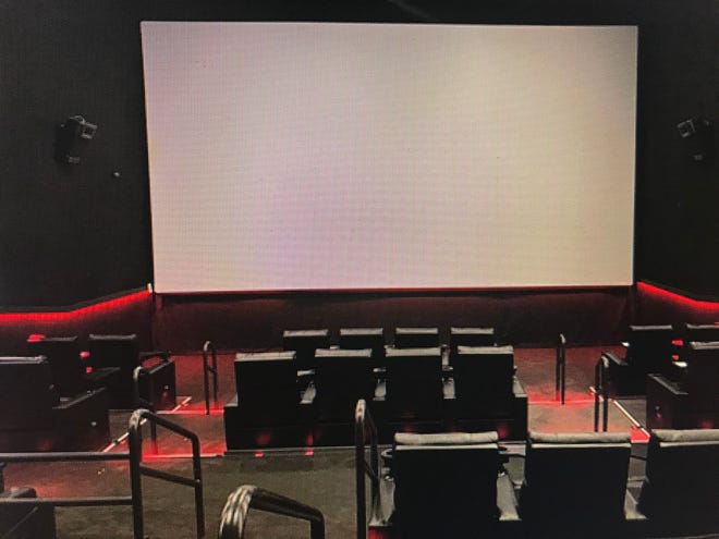 An example of a theater room from City Base Entertainment.