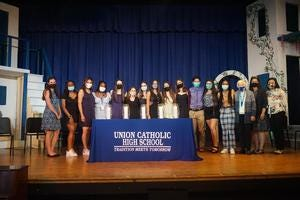 Union Catholic Regional High School held its Junior Rite of Passage for the Class of 2022.