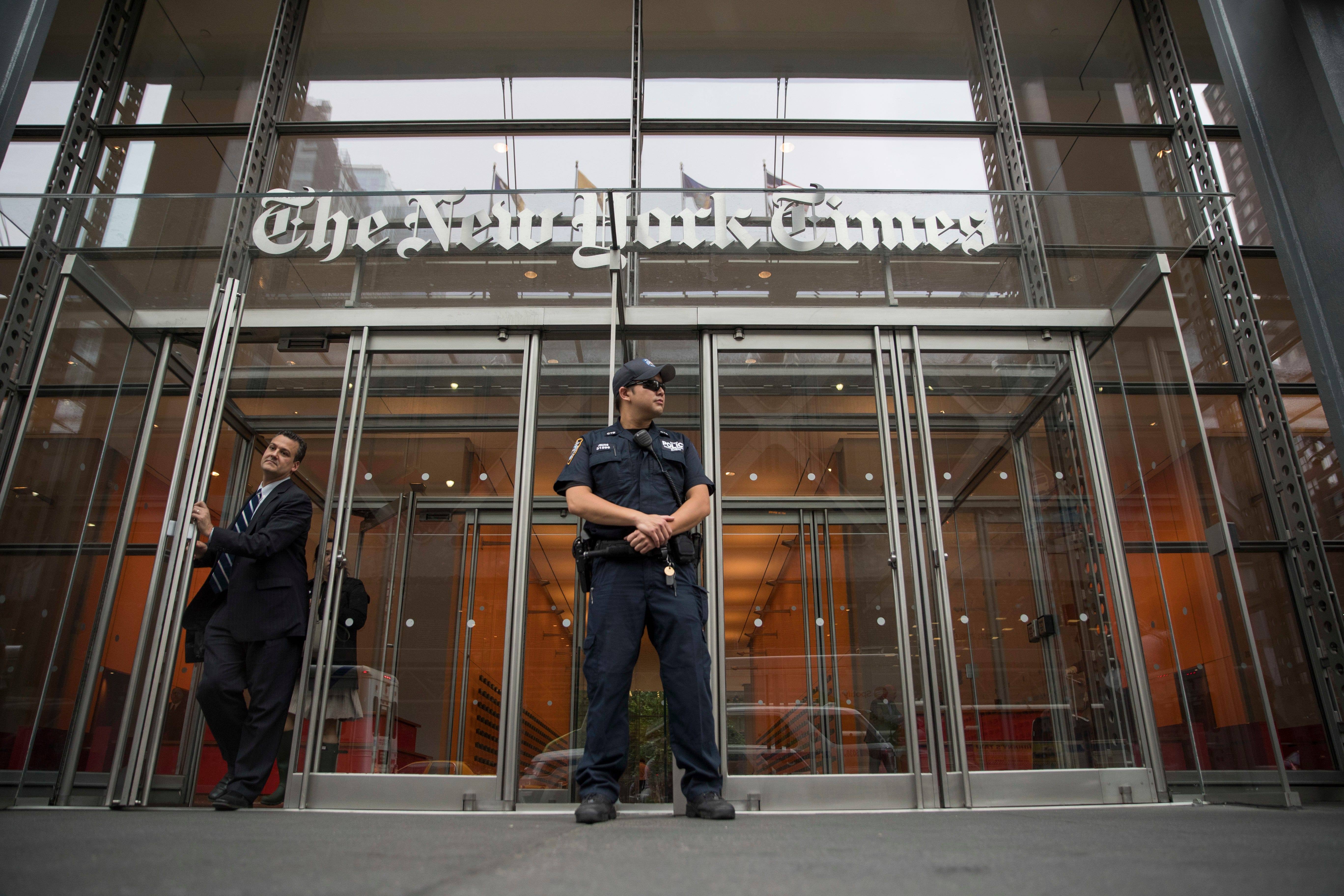 Trump Justice Dept. seized phone records of 4 NYT reporters 1